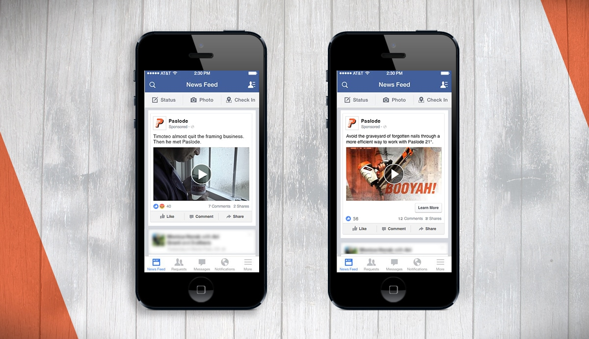 Paslode 21° Social Video Campaign | Case Study | Tools, Construction ...